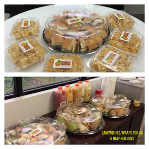 Lunch Catering for 40 People